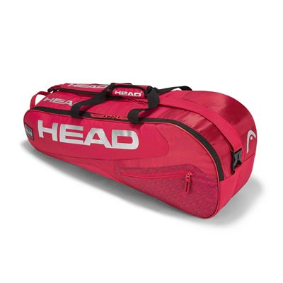 Head Elite Combi 6 Racket Bag AW17 - Red