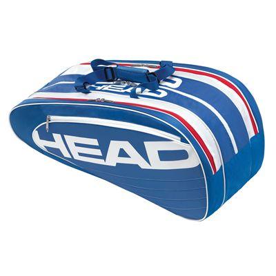 Head Elite Combi 6 Racket Bag Blue