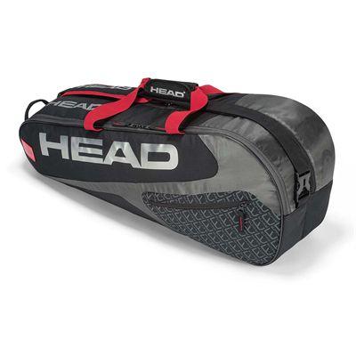 Head Elite Combi 6 Racket Bag SS19 - Black/Red