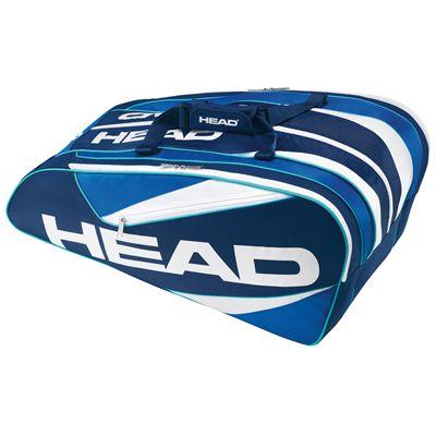 Head Elite 12R Monstercombi Racket Bag-Blue
