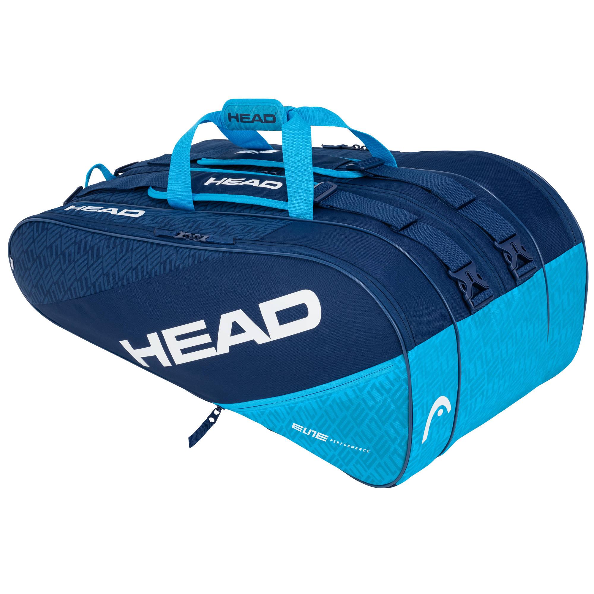 Head Elite Monstercombi 12R Racket Bag - Navy/Blue