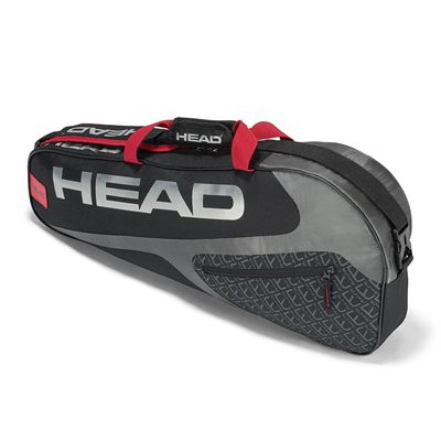 Head Elite Pro 3 Racket Bag SS19 - Black/Red
