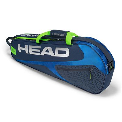 Head Elite Pro 3 Racket Bag SS19 - Blue/Yellow