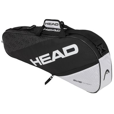 Head Elite Pro 3 Racket Bag SS20 - BlackWhite