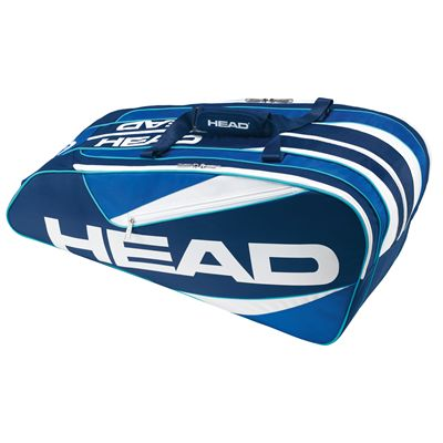 Head Elite 9R Supercombi Racket Bag-Blue