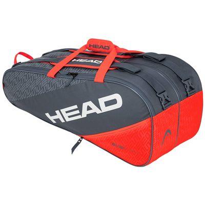 Head Elite Supercombi 9 Racket Bag SS20 - Orange