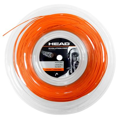 Head Evolution Pro Squash String - 110m Reel - Orange
