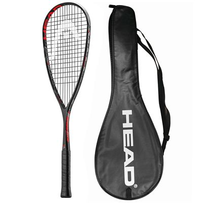 Head Extreme 135 Squash Racket Double Pack - Cover