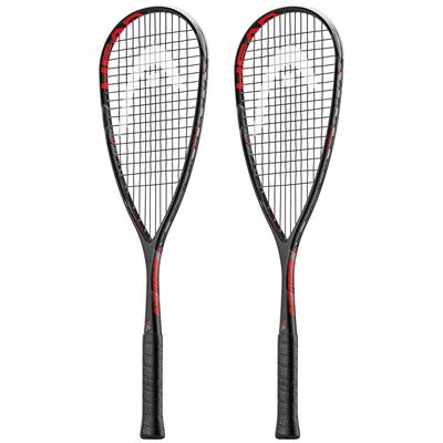 Head Extreme 135 Squash Racket Double Pack