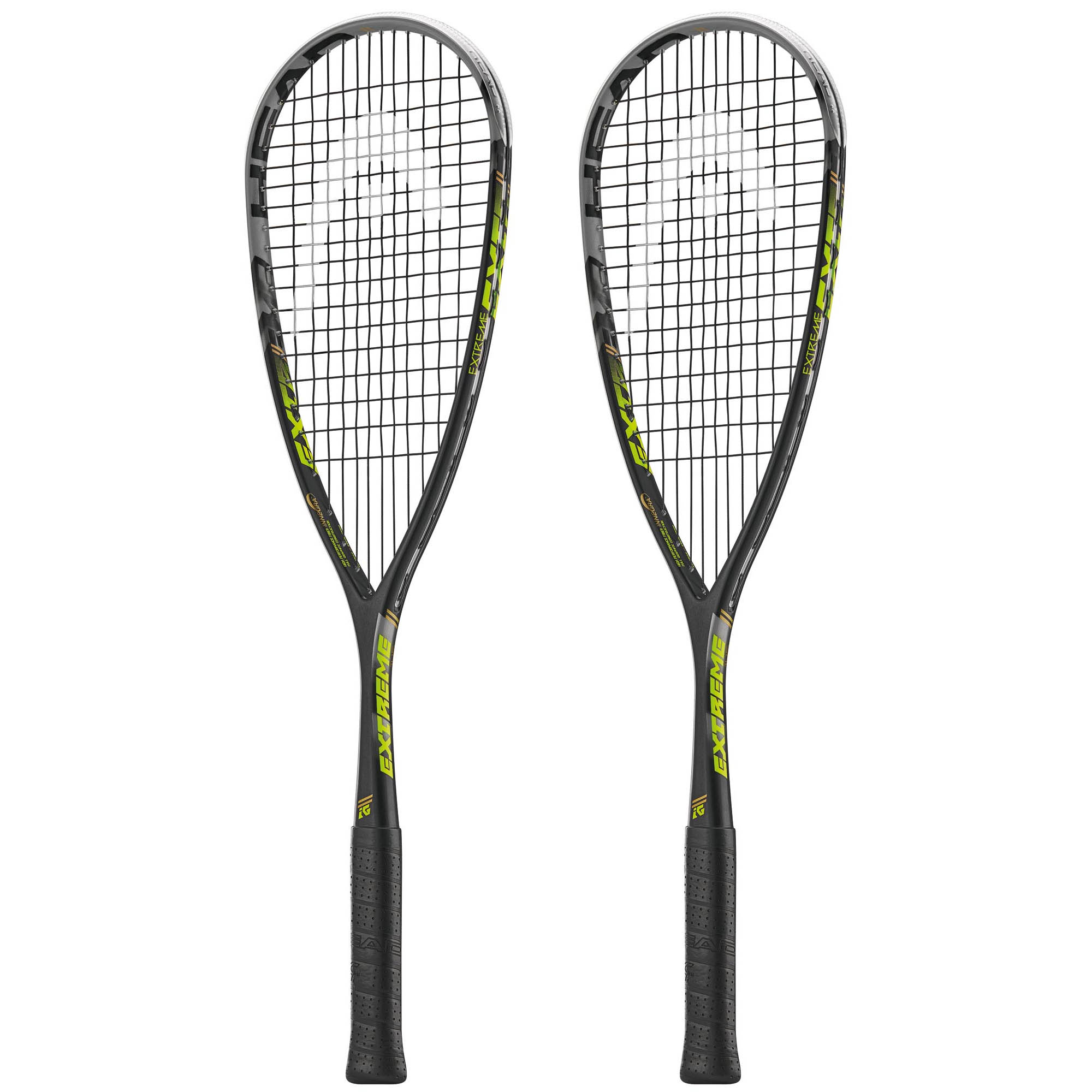 Head Extreme 145 Squash Racket Double Pack