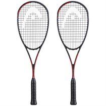 Head Graphene 360+ Radical 120 SB Squash Racket Double Pack