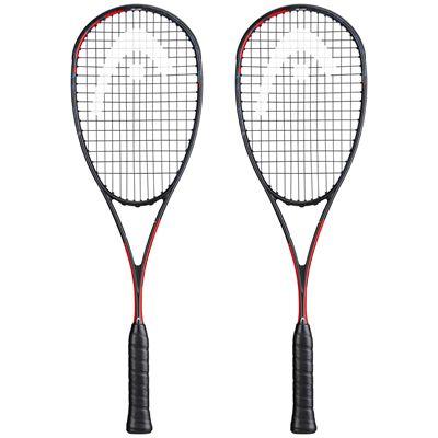Head Graphene 360+ Radical 120 SB Double Pack Squash Racket