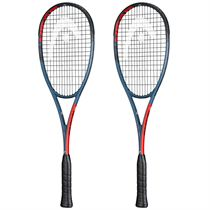 Head Graphene 360+ Radical 135 Squash Racket Double Pack