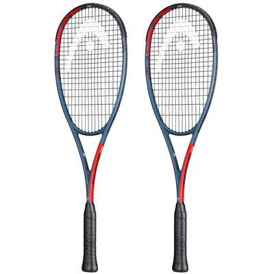 Head Graphene 360+ Radical 135 X Double Pack Squash Racket
