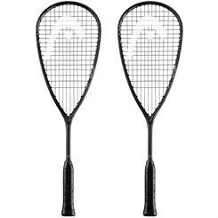 Head Graphene 360 Speed 120 Slimbody Squash Racket Double Pack