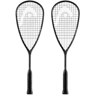Head Graphene 360 Speed 120 Slimbody Squash Racket Double Pack