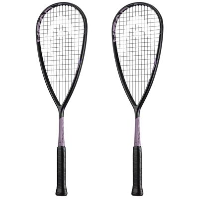 Head Graphene 360 Speed 120 Squash Racket Double Pack - Pink