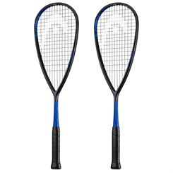Head Graphene 360 Speed 120 Squash Racket Double Pack