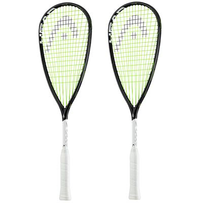 Head Graphene 360 Speed 135 Slimbody Squash Racket Double Pack