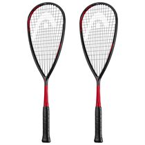 Head Graphene 360 Speed 135 Squash Racket Double Pack