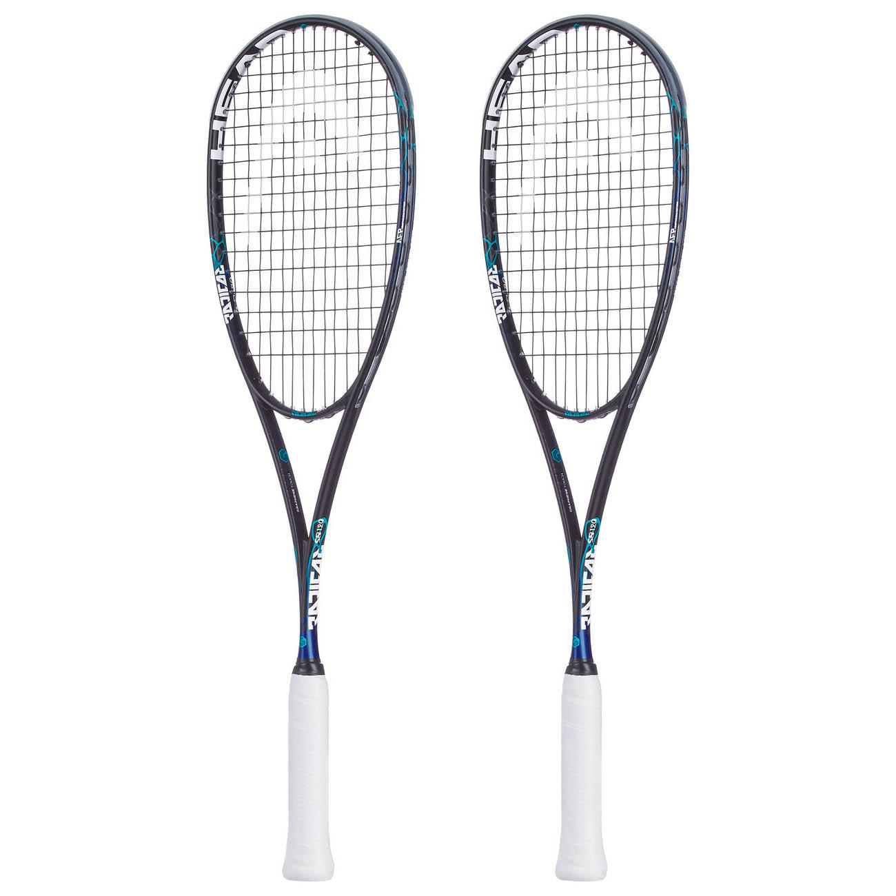 Head Graphene Touch Radical 120 Slimbody Squash Racket Double Pack