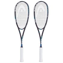 Head Graphene Touch Radical 120 Slimbody Squash Racket Double Pack