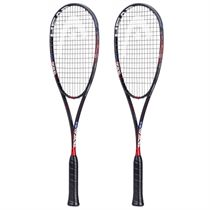 Head Graphene Touch Radical 135 Slimbody Squash Racket Double Pack
