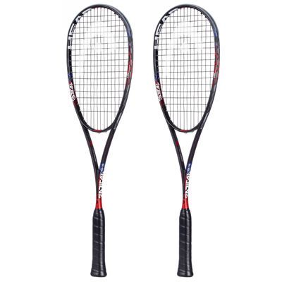 Head Graphene Touch Radical 135 Slimbody Squash Racket Double Pack