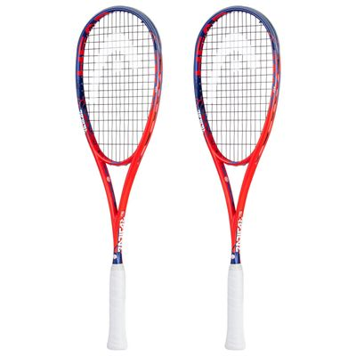 Head Graphene Touch Radical 135 Squash Racket Double Pack