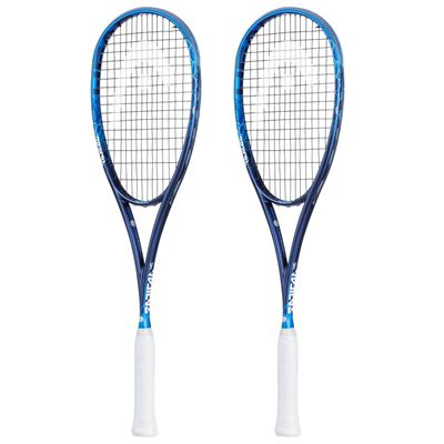 Head Graphene Touch Radical 145 Squash Racket Double Pack