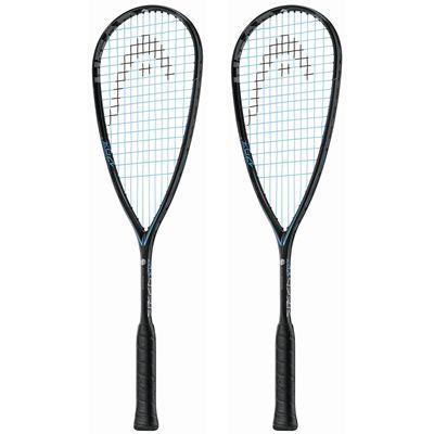 Head Graphene Touch Speed 120 Slimbody Squash Racket Double Pack
