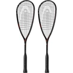 Head Graphene Touch Speed 135 Slimbody Squash Racket Double Pack