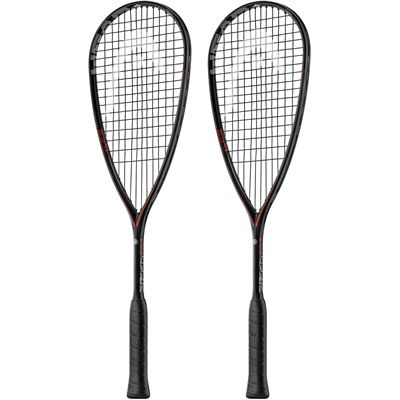Head Graphene Touch Speed 135 Slimbody Squash Racket Double Pack