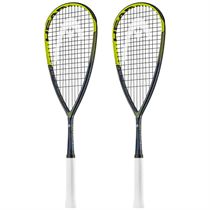 Head Graphene Touch Speed 135 Squash Racket Double Pack
