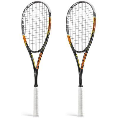 Head Graphene Xenon 135 Squash Racket Double Pack