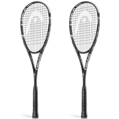 Head Graphene Xenon 145 Squash Racket Double Pack