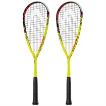 Head Graphene XT Cyano 120 Squash Racket Double Pack