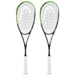 Head Graphene XT Xenon 120 Slimbody Squash Racket Double Pack SS15