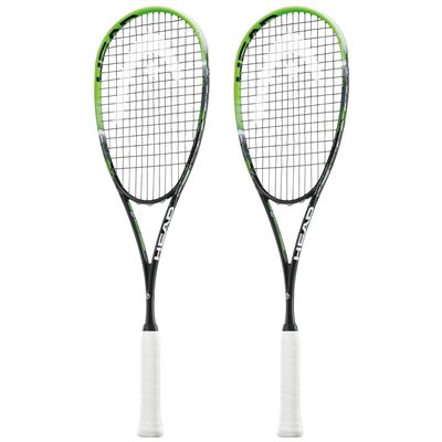 Head Graphene XT Xenon 120 Slimbody Squash Racket Double Pack