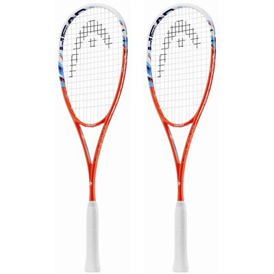 Head Graphene XT Xenon 120 Slimbody Squash Racket Double Pack SS17