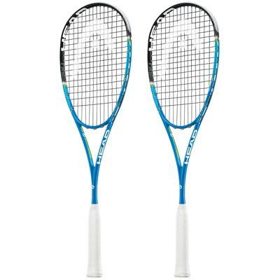 Head Graphene XT Xenon 135 Slimbody Squash Racket Double Pack