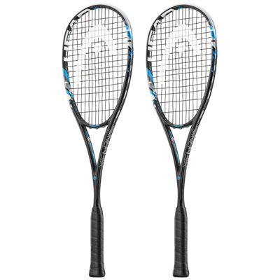 Head Graphene XT Xenon 145 Squash Racket Double Pack