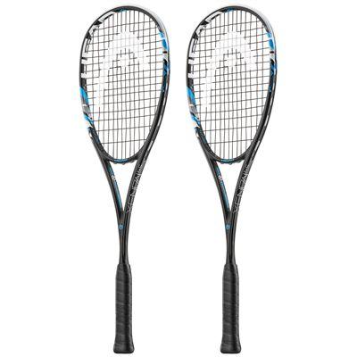 Head Graphene XT Xenon 145 Squash Racket Double Pack