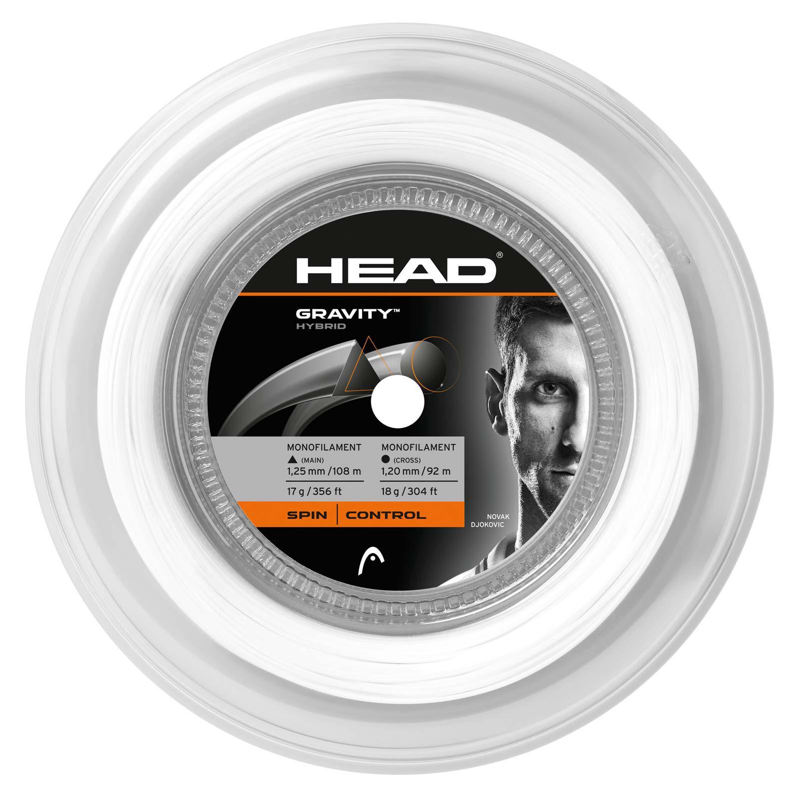 Head Gravity Tennis String 200m Reel