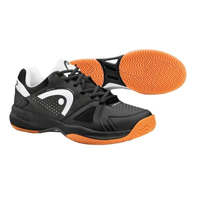 Head Grid 2.0 Mens Indoor Court Shoes-Black And White