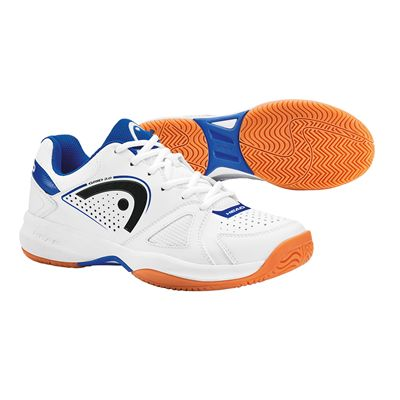 Head Grid 2.0 Mens Indoor Court Shoes-White And Navy