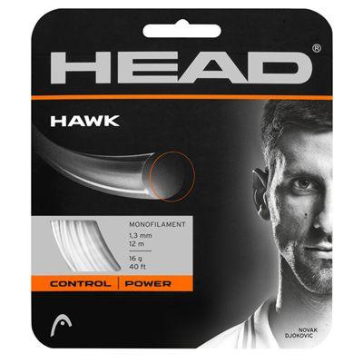 Head Hawk Tennis String Set - White