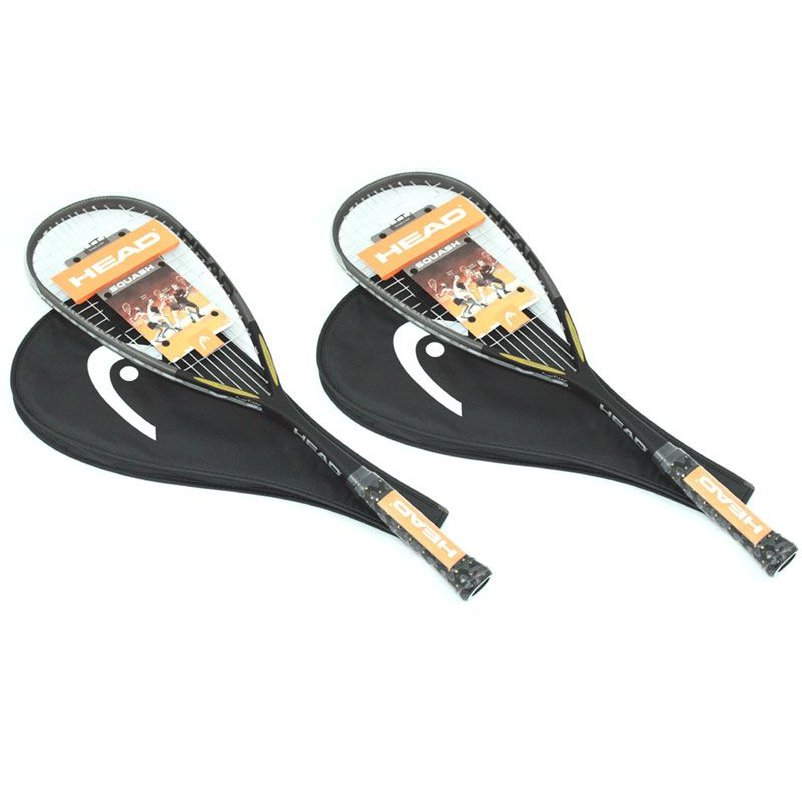 Head i.110 Squash Racket Double Pack