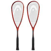 Head IG Extreme 145 Squash Racket Double Pack