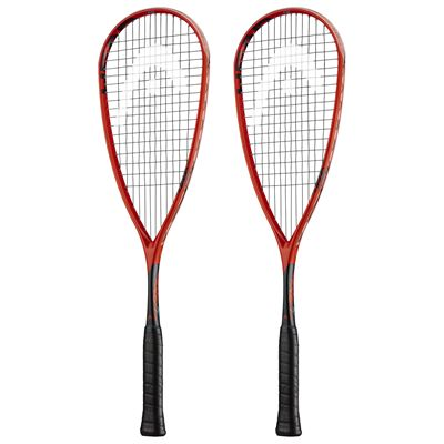 Head IG Extreme 145 Squash Racket Double Pack SS19